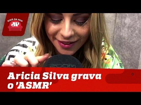 UAU! Aricia Silva grava o 'ASMR' para o Sofá da Pan! thumbnail