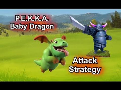P.E.K.K.A. / Baby Dragon Attack Strategy (TH9)