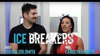 Julien Solomita Hilariously Conquers The Cryo Chamber on ICE BREAKERS