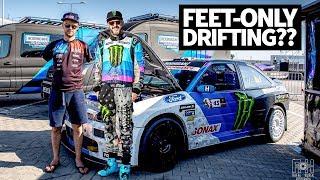 drifting-with-no-arms-ken-block-rides-along-with-armless-driver-bartosz-ostałowski