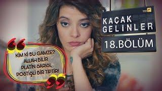 Kaçak Gelinler 18 Bölüm - Şebnem'i kıskandırmaya çalışan Selim!