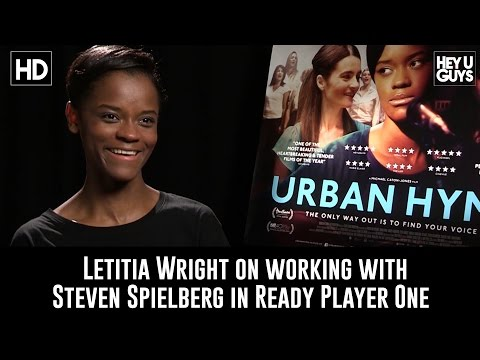 Download Youtube: Letitia Wright on working with Steven Spielberg in Ready Player One