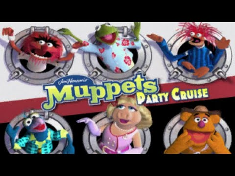Muppets Party Cruise - A Muppet Party Game?? (Patron Pick!)