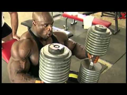 Ronnie Coleman   Chest workout