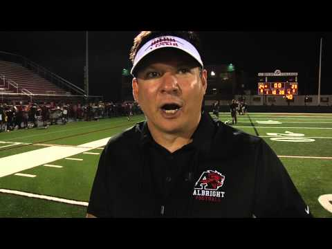Albright College Football vs  Salisbury 2015