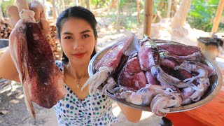 Yummy cooking squid round fry recipe - Natural Life TV Cooking