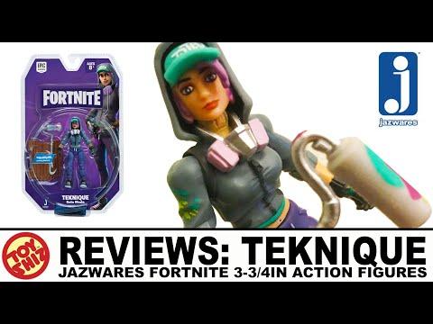 Toy Shiz REVIEWS: TEKNIQUE Fortnite Figure By Jazwares