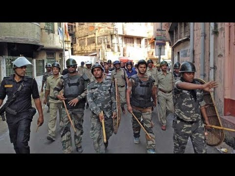 Police resort to 'lathi-charge' on violence in Asansol's Jemua