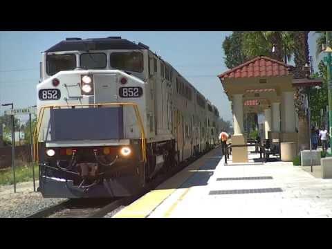 Railfanning Metrolink Fontana Station