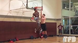 """Guy Dupuy's """"You Need to Retire"""" Dunk - 360 Eastbay DUNK CAM! Video"""