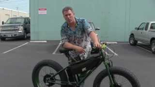 12,000w KRAKEN SUPER FAT BIKE TEST RIDE SOLD AT HI TREK CYCLES