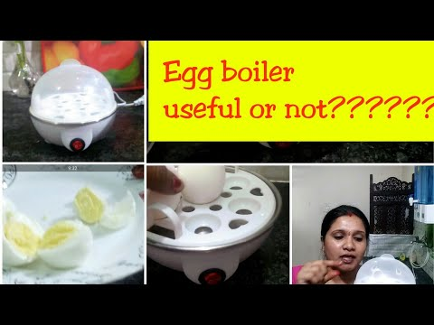 Egg boiler useful or not/which is best??? steel egg boiler or non stick/Indianmom busy lifestyle