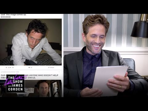 Glenn Howerton Browses rThe_Dennis For The First Time