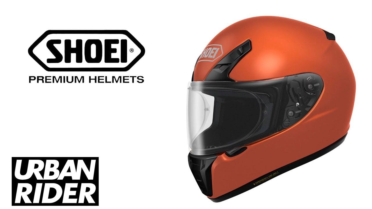 Shoei Ryd Motorcycle Helmet Review Urban Rider Youtube