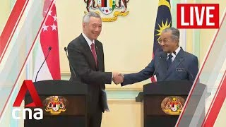 [LIVE HD] Singapore-Malaysia leaders' retreat: Lee Hsien Loong, Mahathir Mohamad press conference