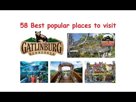 Top Attractions Gatlinburg Tennessee holiday
