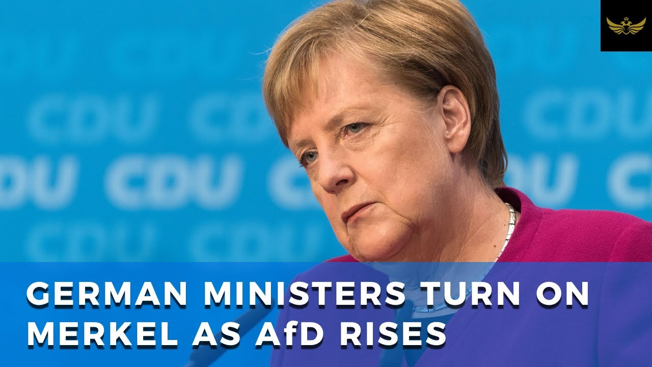Merkel isolated. German ministers turn on Chancellor as AfD continues to rise