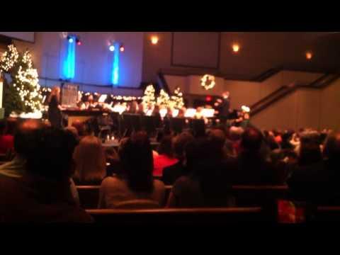 Lenoir city high school band Christmas concert 2014