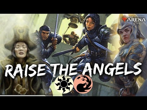 RAISE The ANGELS [MTG Arena] | (WR) Divine Visitation Deck In M20 Standard