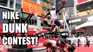 Chris Staples Wins 2019 Nike Dunk Contest! Video