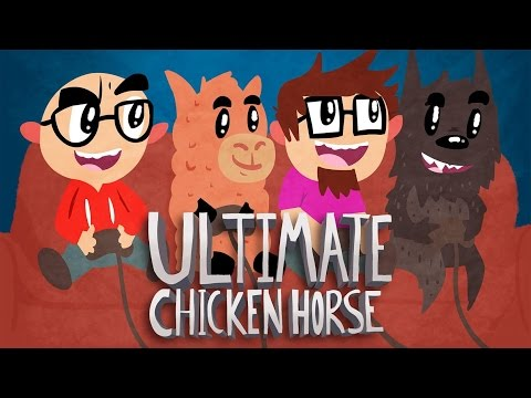 Ultimate Chicken Horse - Part 53 - feat. Nek, austin and Ryan!
