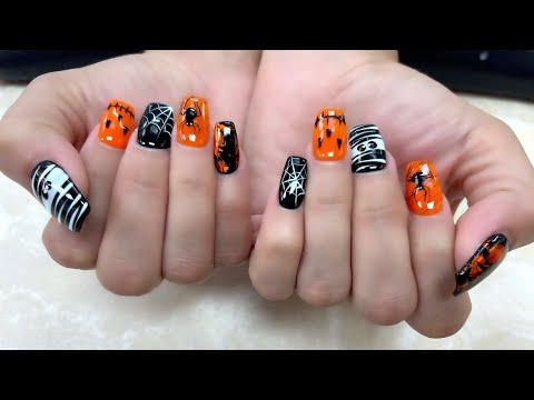 5+Glam Halloween Nails For The Chic Girl/Halloween 2021/YouTube Amy Huynh