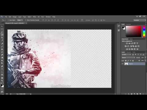 Photoshop CC 2014 Tutorials Part 1 Introduction Move tool Hindi / Urdu