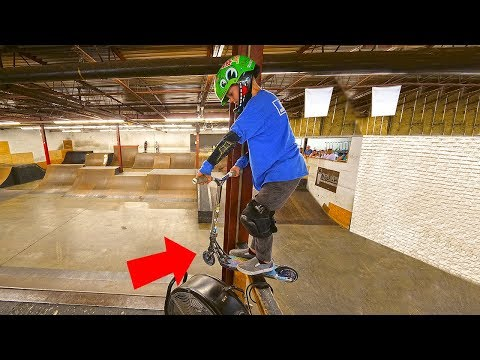 8 YEAR OLD PRO SCOOTER KID! CANADA VLOG