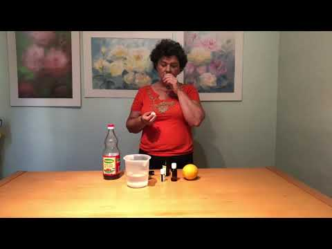 Learn How To Use Orange Essential Oil In A Cleaning Spray