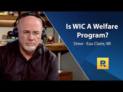Is WIC A Welfare Program?