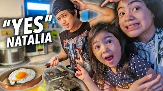 Saying YES To EVERYTHING Natalia Says For 24 HOURS! (Cute Ni Natalia) | Ranz and Niana