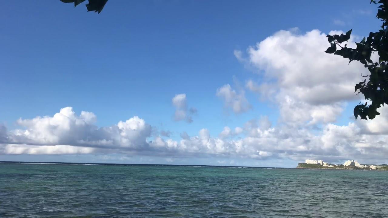 아름다운 바다 풍경 영상, 내가 괌 바다를 좋아하는 이유 ✨