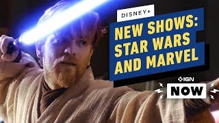 Ms. Marvel, Ewan McGregor, and Lizzie McGuire Announced for Disney+ at D23 - IGN Now