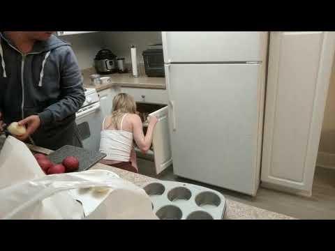 STPEACH Late Night Cooking With Her Boyfriend