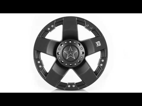 KMC XD775 Wheel Rim Spin - Satin Black