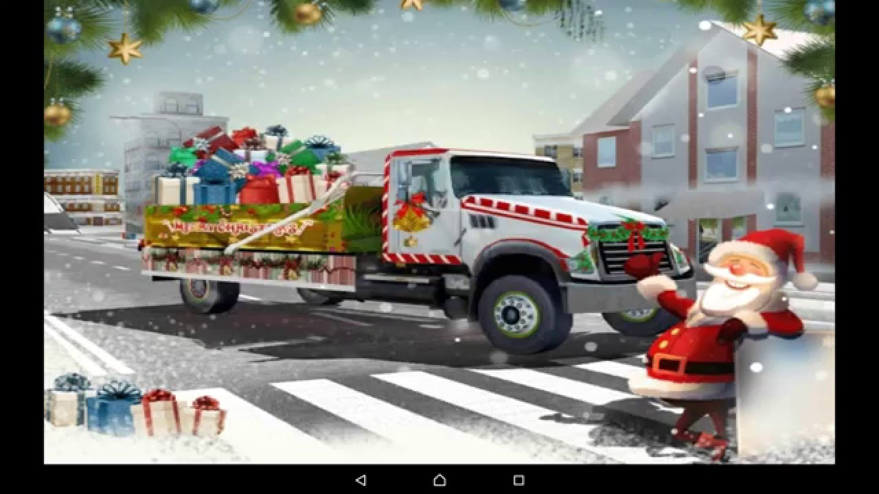 Santa Christmas Gift Delivery - HD Android Gameplay - Off-road games ...