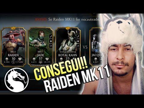 MORTAL KOMBAT MOBILE - CONSEGUI O RAIDEN MK11 FINALMENTE!