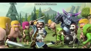 clash of clans komik montaj