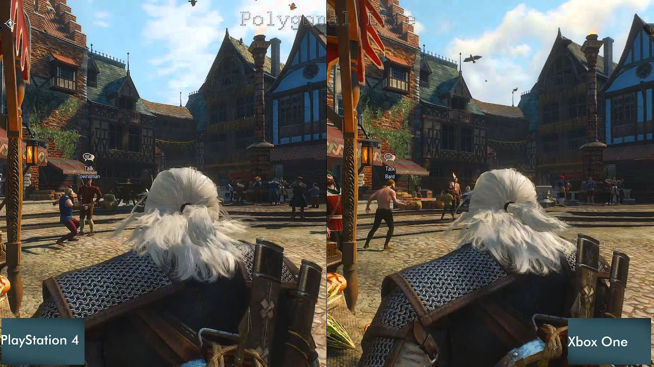 the witcher 3 ps4 vs xbox one graphics comparison screenshot comparison youtube. Black Bedroom Furniture Sets. Home Design Ideas