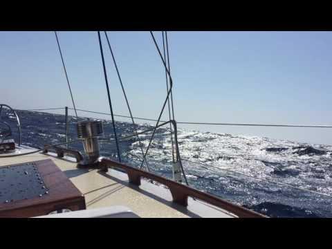 Gusts to 35 knots off San Nicolas Island