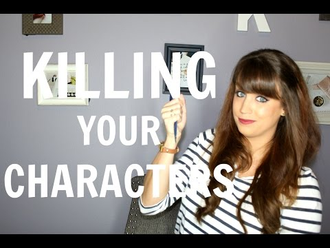 How To Kill Off Your Book Characters
