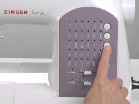 SINGER CURVY™ 40 Sewing Machine Stitches YouTube Gorgeous Singer Curvy 8763 Sewing Machine