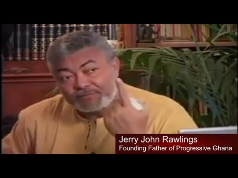 The Plight of Africa - Collusion of Unpatriotic Citizens and the Super Powers - J J Rawlings