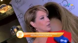 TV Fama Claudia Raia gostou de ser loira Me d mais possibilidades 10 02 2015 mircmirc