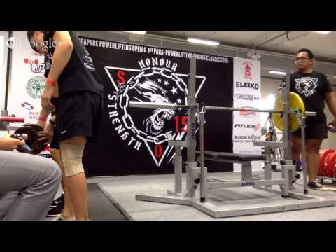 Singapore Powerlifting Open '15 All Women's Categories