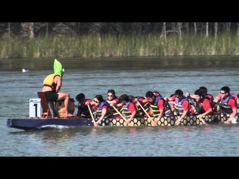 Dragon boat race at Lake Merced, San Francisco, May 5 2012