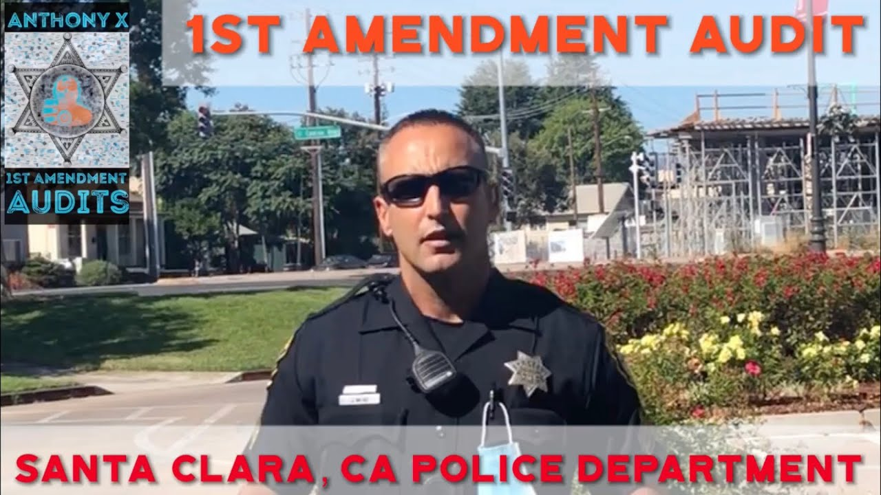 1st Amendment Audit Santa Clara, CA PD