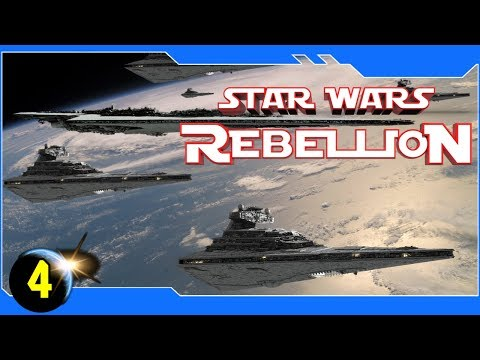 Star Wars: Rebellion - The Imperial Fleet Expands - Ep 4 - 4x RTS
