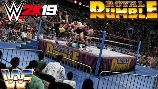 WWE 2k19 Old School WWF Royal Rumble