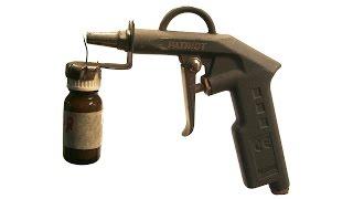 МИНИ КРАСКОПУЛЬТ СВОИМИ РУКАМИ .MINI spray guns OWN HANDS(САМОДЕЛЬНЫЙ МИНИАТЮРНЫЙ ОКРАСОЧНЫЙ ПИСТОЛЕТ.Homemade Miniature spray gun ., 2015-11-15T08:18:38.000Z)